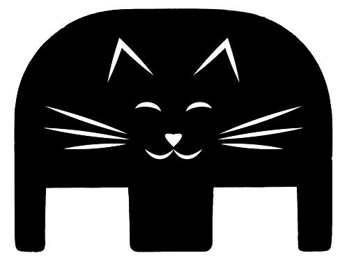 Cat Whiskers Glock Slide Back Plate