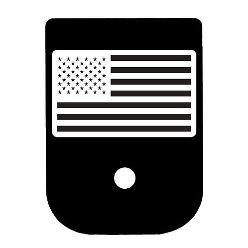 American Flag Glock Magazine Base Plate