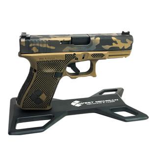 Laser Stippling, Burnt Bronze Cerakote,