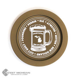 Grand Rapids Breweries Coaster - Burnt Bronze Cerakote.jpg.jpg