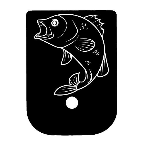 Bass Glock Magazine Base Plate