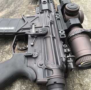 AR-15 H-293 Vortex Bronze Distressed (1)