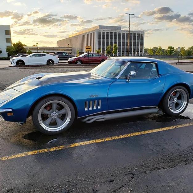 Corvette - Tungsten Cerakote Headers & P