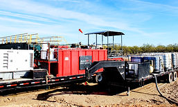 Mixing Plant and Tote Trailer