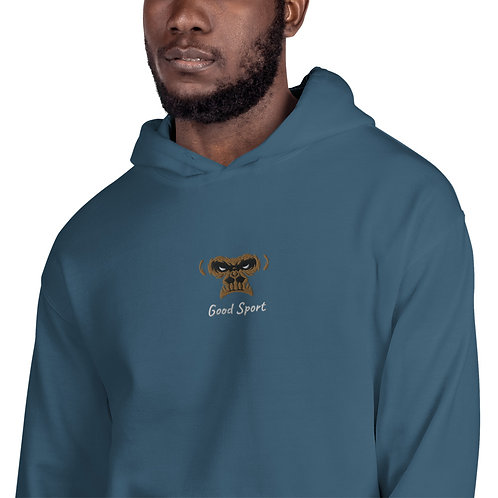 """Eyez Up'"" Gorilla Patch Hoodie"
