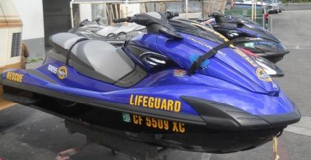 OC lifeguard waverunner Jetski Performance Fiberglass