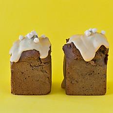 有機ほうじ茶&ピーナッツバター ケーキ