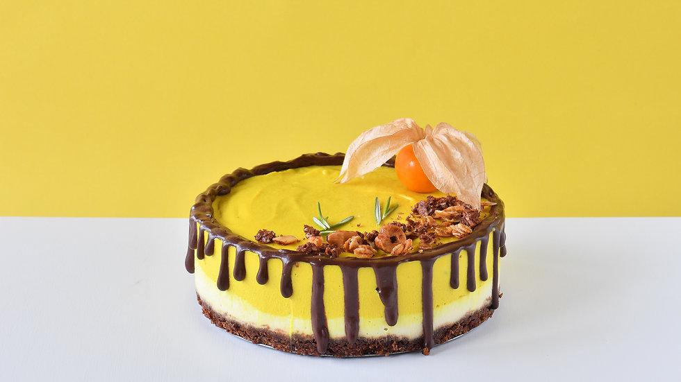 ターメリックチョコレートケーキ