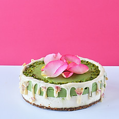 Green Tea Cheese Cake/抹茶チーズケーキ