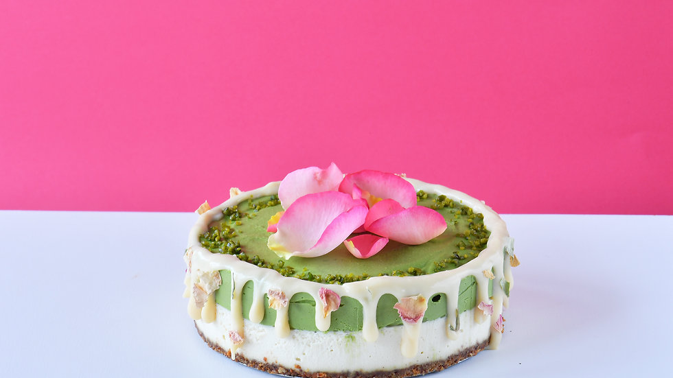 有機抹茶&ホワイトチョコレートケーキ