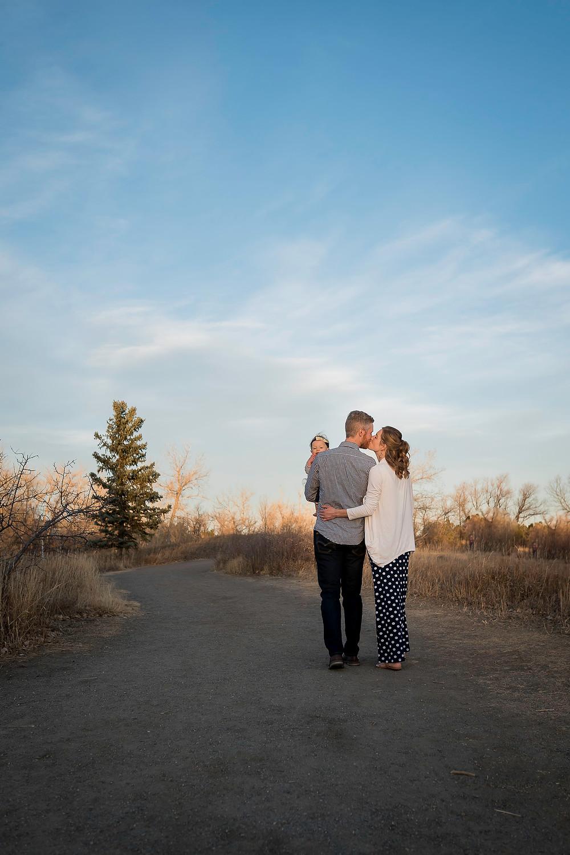 Lifestyle family portrait, Lakewood, Colorado