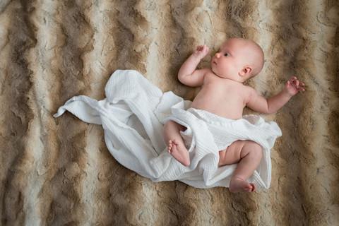 In-home newborn photo session Golden, Colorado