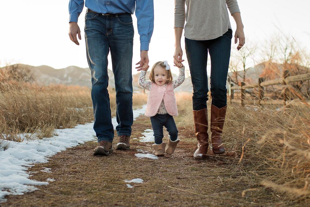Lifestyle Family Portrait Littleton, Colorado