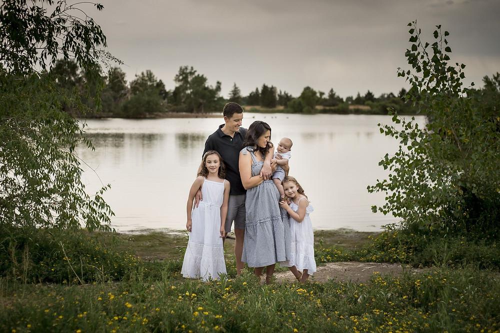 Family portrait, Lakewood Colorado