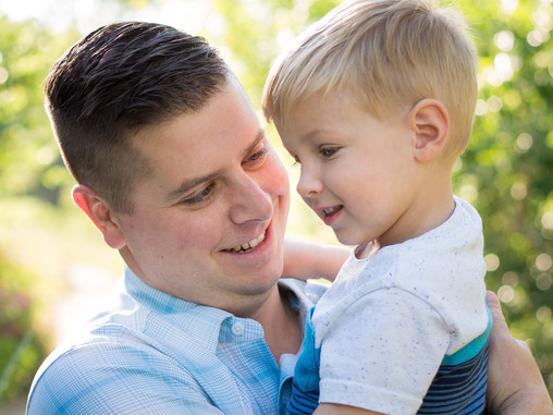 Showing Dads the Love | Colorado Family Photographer | Lakewood, CO