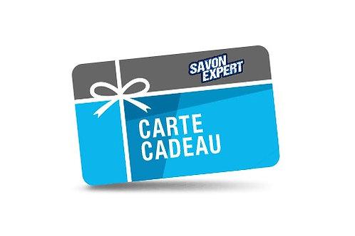 CARTE CADEAU SAVONEXPERT.COM