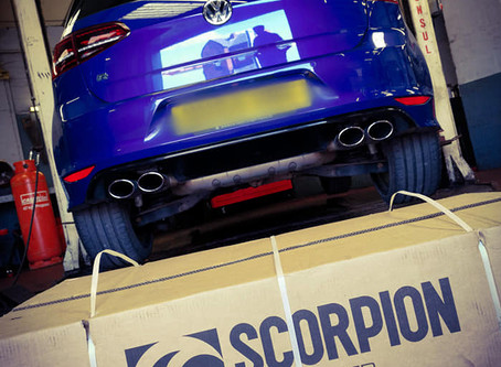 Mk7 Golf R: Scorpion Exhaust