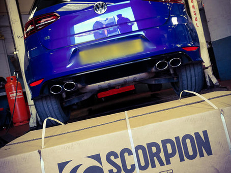Mk7 Golf R: Scorpion Exhaust