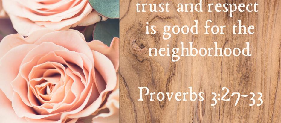 Doing Good in Your Neighborhood