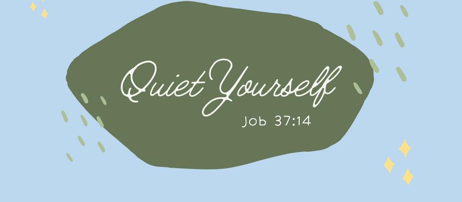 Quiet Yourself