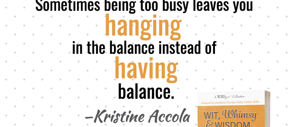 Wit, Whimsy and Wisdom with Gina and Kristine