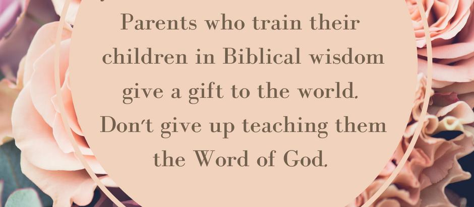 Proverbial Parenting