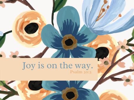 Joy is on the Way!