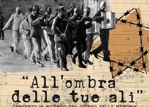 """""""All'ombra delle tue ali"""". La musica scritta nei lager rivive in un concerto a Lecco per il Giorno d"""