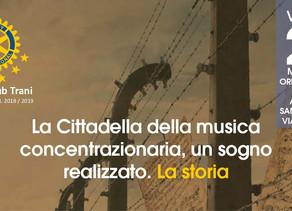 A Trani presentazione del progetto Cittadella della Musica Concentrazionaria