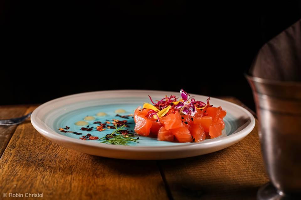 Tapas Gravlax de saumon