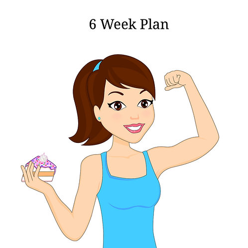 6 Week Online Nutrition Coaching + Workout Program
