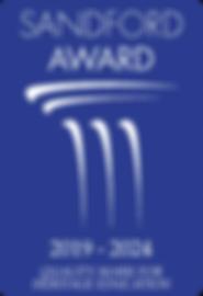Sandford Winner 2019 - beveled corners (