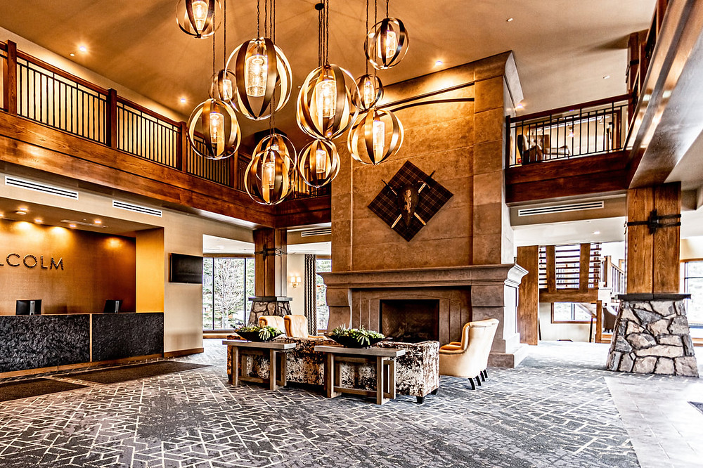 Malcolm Hotel - Canmore - Lobby
