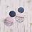 Thumbnail: Detailed Drop Poly Earrings