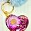 Thumbnail: Custom Resin Heart Keyring