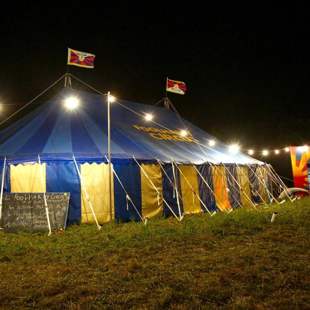 Foolhardy Circus Big Top