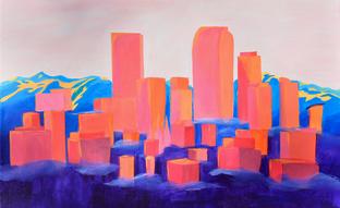 denver-sunset-painting