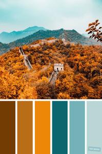 Fall Color Scheme 2