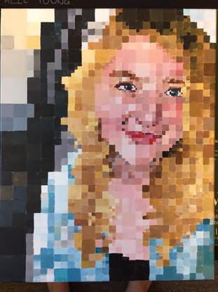 grid-painting-self-portrait