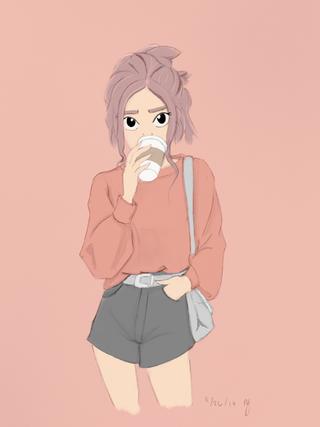 coffee-girl-illustration