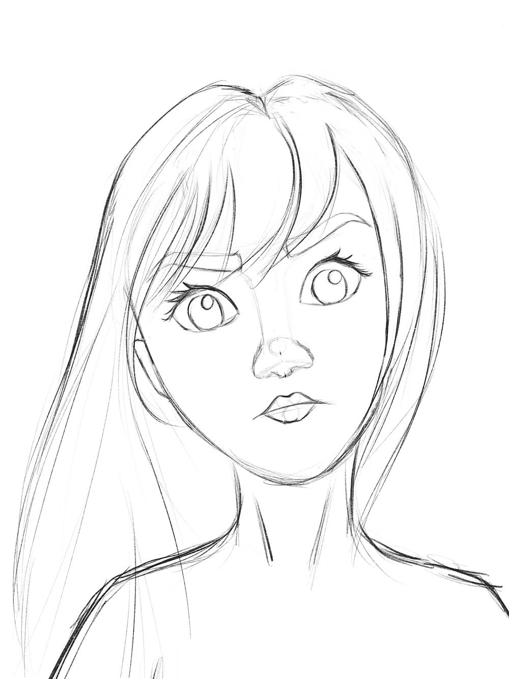 procreate-girl-sketch