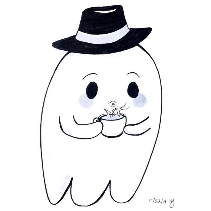 cute-ghost-ink-drawing
