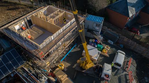 Construction, Welshpool, Powys