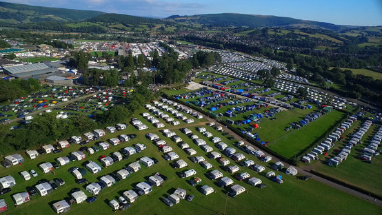Royal Welsh Show Ground, Builth Wells, Powys