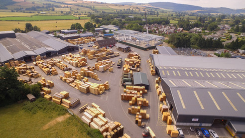 Charles Ransford, Timber yard, Bishops Castle