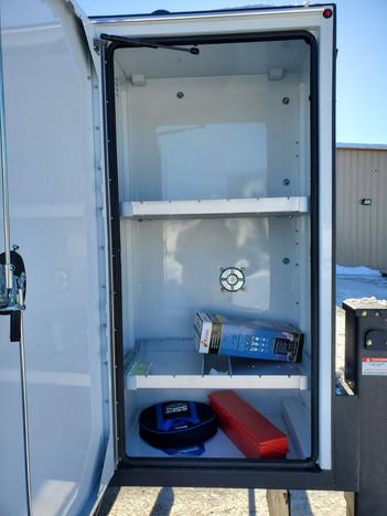 SLT Driver-Side Exterior Storage