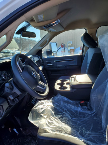 SLT Cab-Front Interior