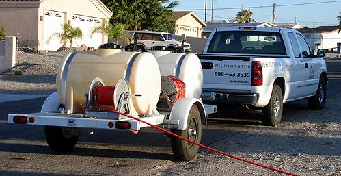CTM Pest Service vehicle