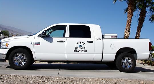 CTM Pest Services vehicle