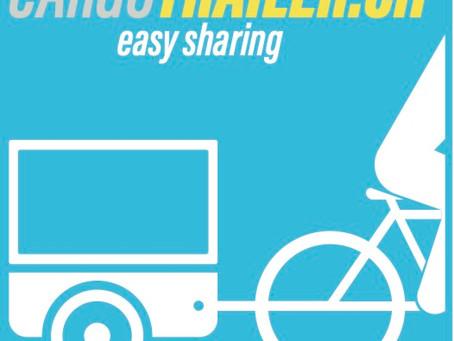 Cargotrailer.ch - das neue Förder- und Sharingprogramm für Fahrradanhänger ist online.